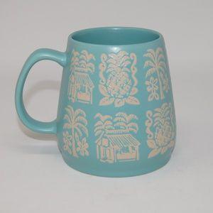 Opal house Aqua Tiki Coffee Mug